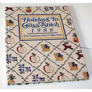 Holidays in Cross Stitch Book, 1988 Hardback .